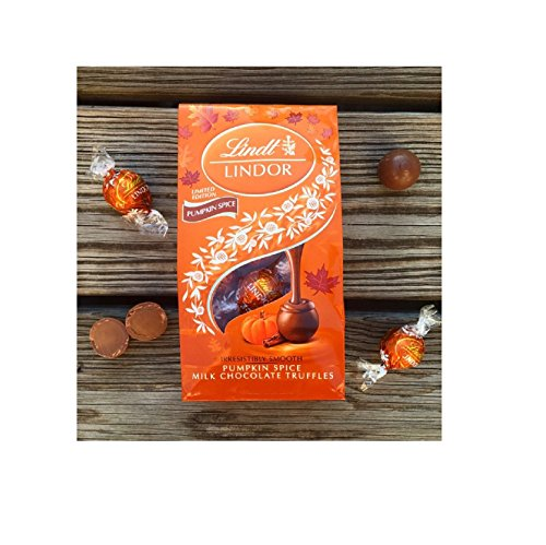 Lindor Pumpkin Spice Truffles 8.5oz Bag, Limited Edition (Chocolate Pumpkin compare prices)