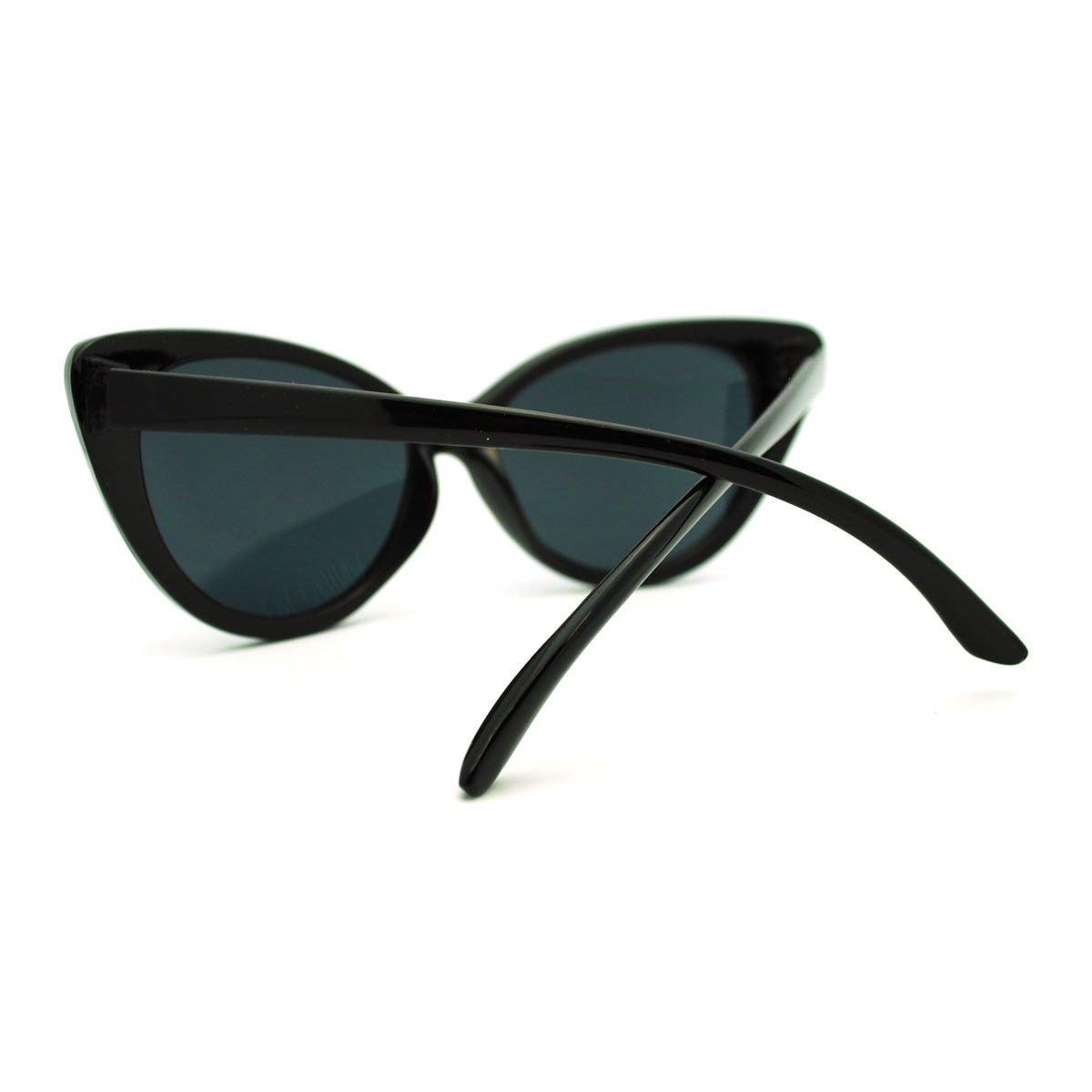 24d71b28a Amazon.com: 50's Women's OG Classic Cat Eye Sunglasses - Black: Clothing