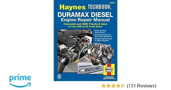 duramax diesel engine repair manual (haynes techbook) haynesduramax diesel  engine repair manual (haynes