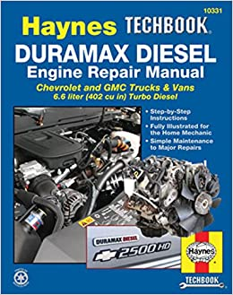 Duramax Diesel Engine Repair Manual: Chrevrolet and GMC Trucks & Vans 6.6 Liter 402 Cu In Turbo Diesel Haynes Techbook: Amazon.es: Editors Of Haynes ...