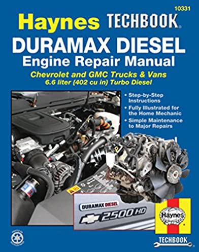 duramax diesel engine repair manual haynes techbook haynes rh amazon com duramax diesel supplement manual 2016 duramax diesel supplement manual 2012