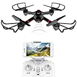 DROCON Drone For Beginners X708W Wi-Fi FPV Training Quadcopter (Small Image)