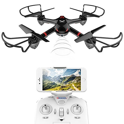 DROCON Drone For Beginners X708W Wi-Fi FPV Training Quadcopter Deal (Large Image)