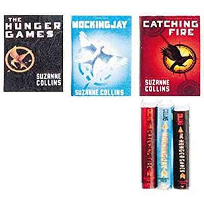 Dollhouse Miniature 1:12 Suzanne Collins Hunger Games 3 Piece Book Set: Toys & Games