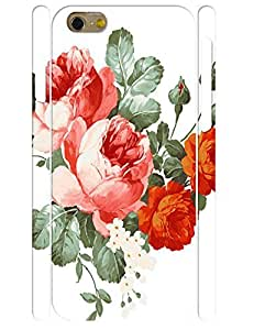 Design Fashion Ink Rose 3D Print Eco TPU Phone Cover Case for Iphone 6 4.7 Inch