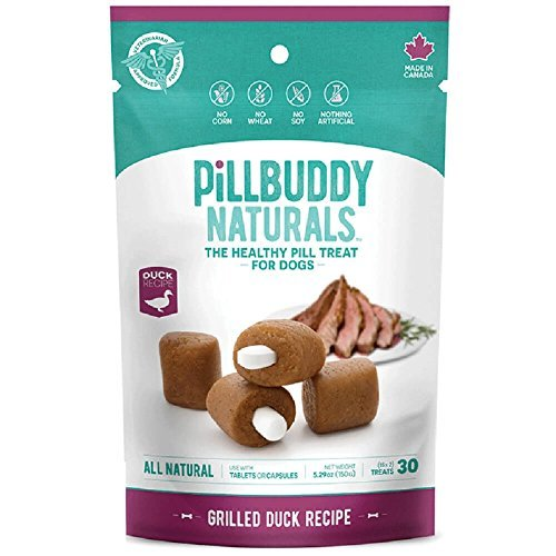 Complete Natural Nutrition Pill Buddy Naturals Grilled Duck (Allergy Formula), 30 count