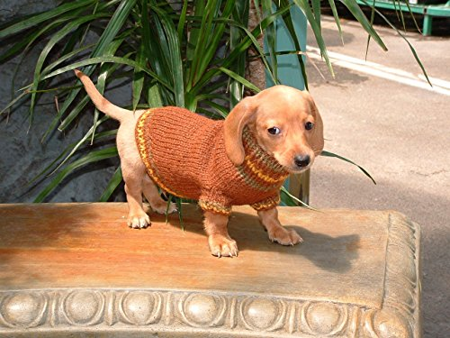 Dog Sweater - Alpaca - Autumn Hues (16 inches) (Autumn Hues)