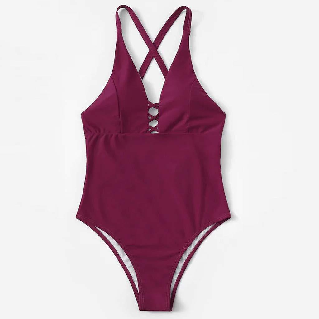 ... de Bikini Traje de baño Swimwear Playa Bañador Bikini Deportivos Ropa de baño Tanga Sujetador Bragas Bikini Push Up: Amazon.es: Ropa y accesorios