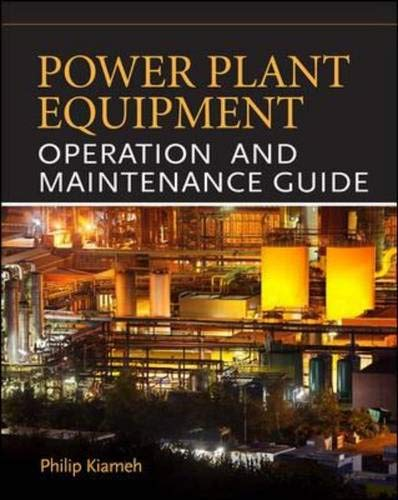 Power Plant Equipment Operation and Maintenance -