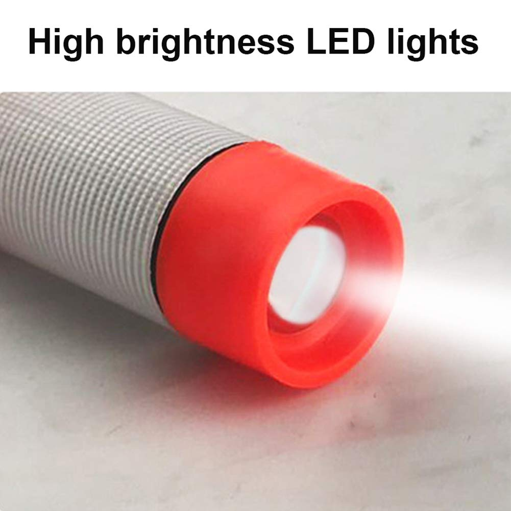 vitihipsy 6 en 1 multifonctionnel Marteau de s/écurit/é portatif avec concasseur de fen/être de voiture dalarme clignotante LED