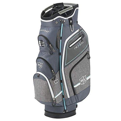 Wilson Staff Nexus III Cart Bag, Women's Grey/Glacier Blue