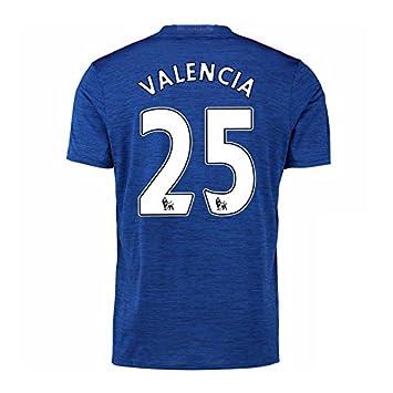 2016-17 Manchester United Away Football Soccer T-Shirt Camiseta (Antonio Valencia 25