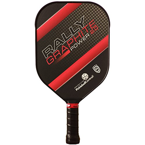 Rally Graphite Power 2.0 Pickleball Paddle (Red)