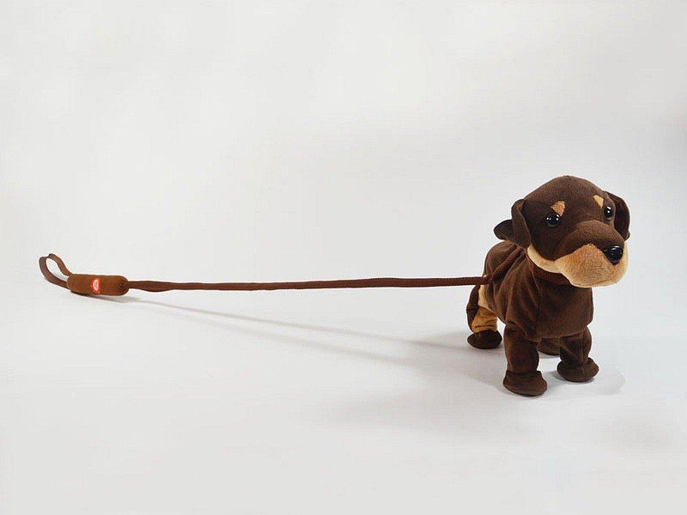 Alte Berufe Hund Dancymals laufender Hund mit Sound Plüsch an Leine Spielzeug 75701
