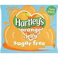 Sin Azúcar gelatina de naranja 23g Cristales
