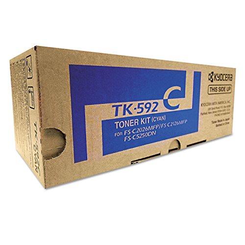 Kyocera Brand Fs-C2026mfp - 1-Tk592c Standard Cyan Toner (Office Supply / - Tk592c Toner Cyan
