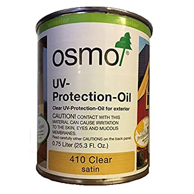 OSMO Clear UV Oil Wood Finish - .75 Liters