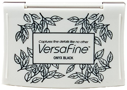 Versafine black onyx ink pad