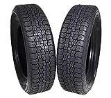 #4: MASSFX ST205/75D15 Bias 6 Ply Trailer Tire Set of 2 Tires 205/75-15