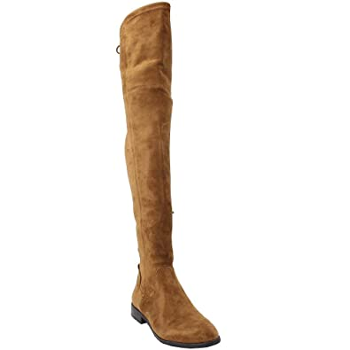 ad332821eee Amazon.com  Dolce Vita Women s Neely Over The Knee Boot  Shoes
