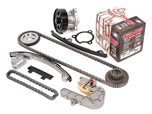Evergreen TK3032WP Fits Nissan QR25DE Timing Chain Kit, and GMB Water Pump
