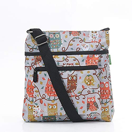 Grey Chic Cross Body Eco Eco Owl Chic Bag Print a84UR