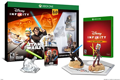 Disney Infinity 3.0 Edition Star Wars Starter Pack for Xbox One (Best Disney Characters List)