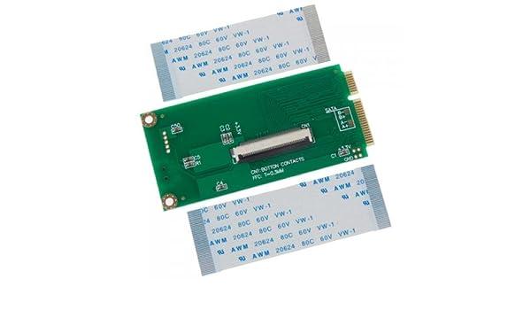 Gazechimp Adaptador HDD ZIF CE De 1,8 Pulgadas A MiniPCI-E: Amazon ...