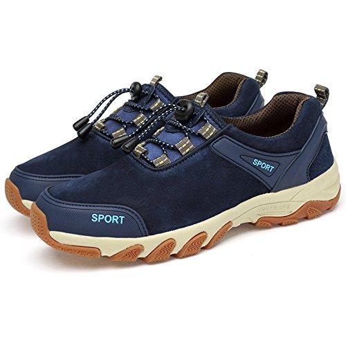 scuro all'Aperto Hishoes Corsa Interior Running Fitness Uomo Scarpe Blu Scarpe da Sportive Sneakers Casual cZfZwqOy4