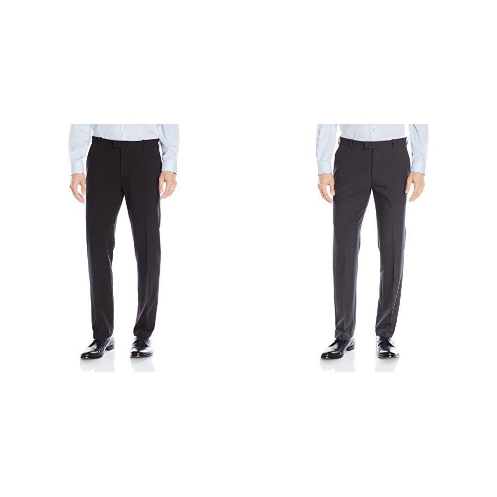 a9e8195c Van Heusen Men's Flex Straight Fit Flat Front Pant