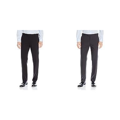 346aa9fb Van Heusen Men's Flex Straight Fit Flat Front Pant at Amazon Men's Clothing  store: