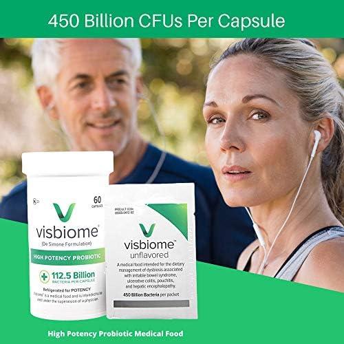 Visbiome - High Potency Probiotics, 112.5 Billion CFU Live Bacteria, 60 Capsules 4