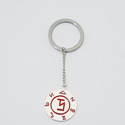 Amazon com: Supernatural Angel Banishing Sigil Keychain - Castiel