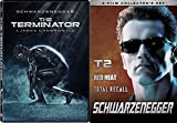 The Terminator 1 & 2 Sci-Fi classic DVD Judgement Day / Red Heat + Total Recall 4 Feature Arnold Schwarzenegger Movie Collection Set