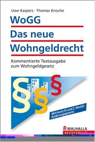 Price comparison product image WoGG - Das neue Wohngeldrecht