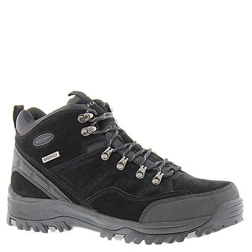 Botas para hombre, color Negro , marca SKECHERS, modelo Botas Para Hombre SKECHERS 64869S RELMENT- PELMO Negro Negro