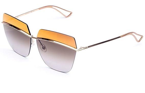 30b35afaf5c Amazon.com  Dior Metallic Sunglasses 63mm Yellow  Clothing