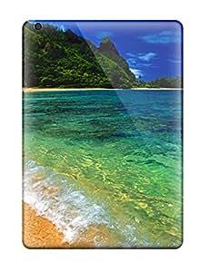 David J. Bookbinder's Shop Best 5173461K26646162 High Grade Flexible Tpu Case For Ipad Air - Tunnels Beach