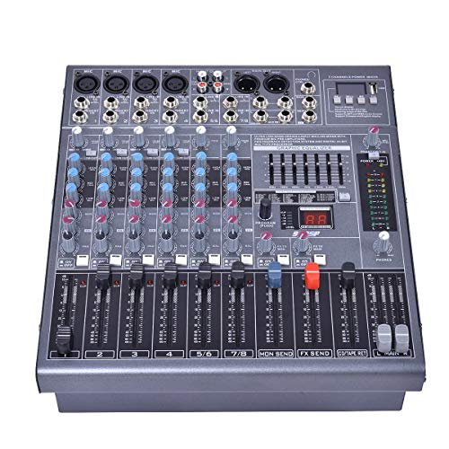 4000 watt powered mixer - 7