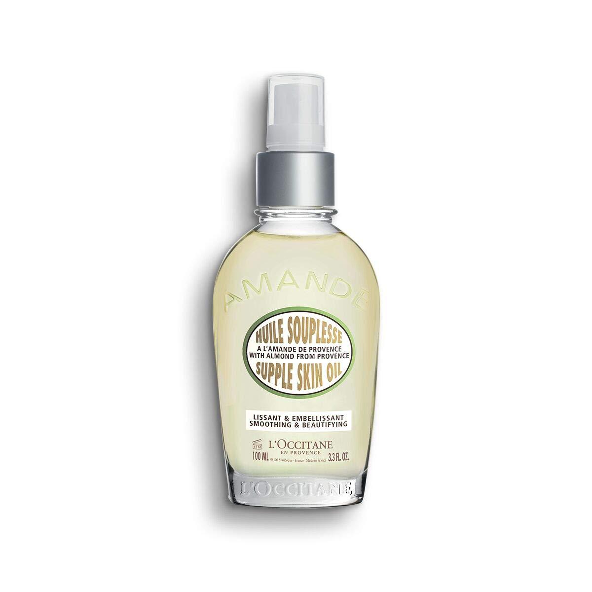 L'Occitane Smoothing & Beautifying Almond Supple Skin Body Oil, 3.3 Fl Oz by L'Occitane