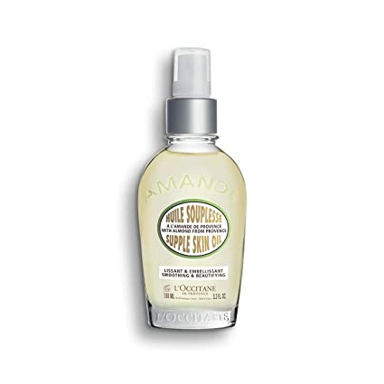 Amazon.com: L Occitane Almendra Supple Piel Petróleo, 3.4 ...