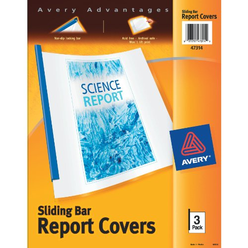 Avery Sliding Report Covers 47314