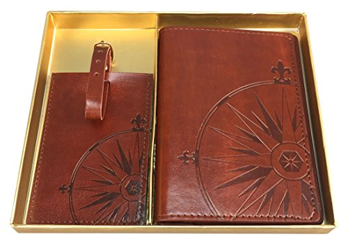 Eccolo Traveler Journal Leather Passport