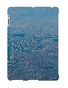 Christinbris Ipad 2/3/4 Hybrid Tpu Case Cover Silicon Bumper Tokyo Aerial View