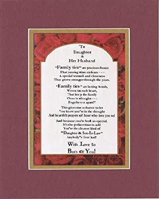 Amazon com: Touching and Heartfelt Poem for Extended Family Members