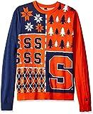 Klew NCAA Busy Block Sweater, XX-Large, Syracuse Orange