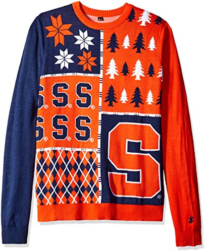 Klew Ncaa Busy Block Sweater  Xx Large  Syracuse Orange