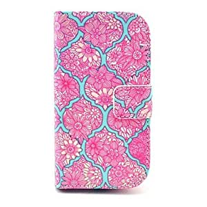 ZL Beautiful Mandala Flower Pattern PU Leather Case with Card Slot and Stand for Samsung Galaxy S3 mini I8190