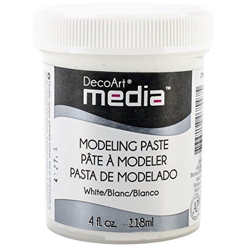 - Deco Art Media Modeling Paste, 4-Ounce, White