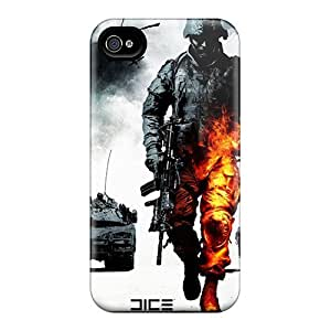Durable Case For The Iphone 4/4s- Eco-friendly Retail Packaging(bad Company 2)